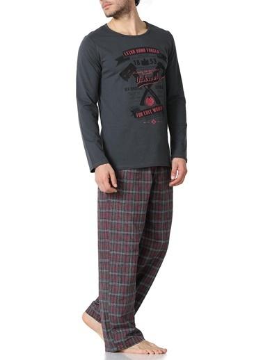 Doremi Pijama Takım Füme